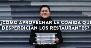 Una ONG consigue aprovechar 125 toneladas de comida desperdiciada por los restaurantes