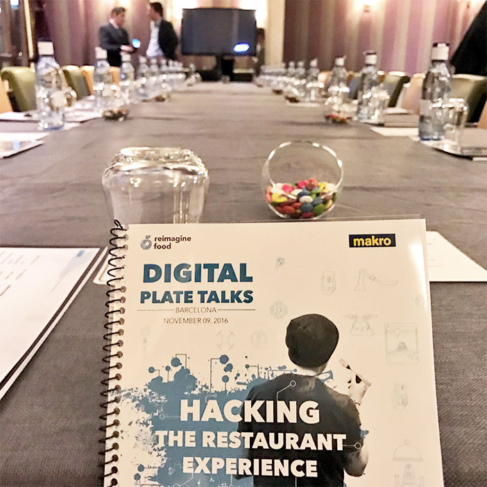 More of 20 experts from different nationalities together for the first in our country to discuss the importance of digital change in the restaurant industry. An event that had previously been held in Paris and will travel to other cities.