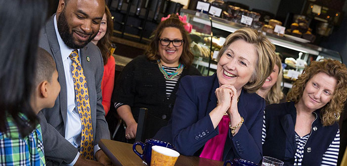 Clinton has pledged to support the program of Supplemental Nutrition Assistance which is a supplement in the form of food stamps to prevent one in seven Americans go hungry.