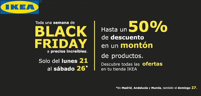 Empresas como Ikea añaden en su calendario cada año el Black Friday en sus promociones.