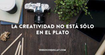 La creatividad no está sólo en el plato