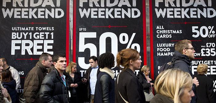 Muchos restaurantes han visto la posibilidad de sumarse a la moda del Black Friday con descuentos y promociones que les permiten aumentar la clientela y los ingresos durante estos dias.