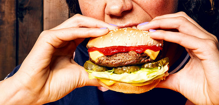 Impossible Foods is the company that created the burger made with vegetable-flavored meat.