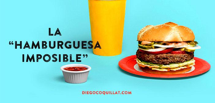 """La """"hamburguesa imposible"""" de Bill Gates está causando furor en New York"""