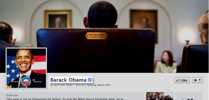 Former President Barack Obama, verification has official website.