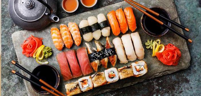 Elaborations of sushi workshops.
