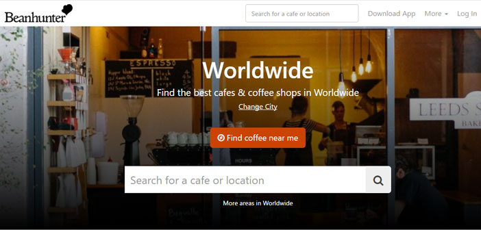 This app is designed for the traveler coffee and allows us to discover the best cafes in our environment, wherever we are.