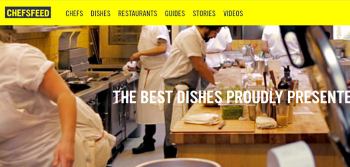 This application integrates the recommendations made on over 50 cities by renowned chefs and cooks.
