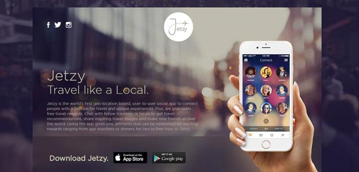 Esta plataforma es más una app de viajes que de comida, pero sirve igualmente para ayudarte a conocer gente, sitios y descubrir sabores.