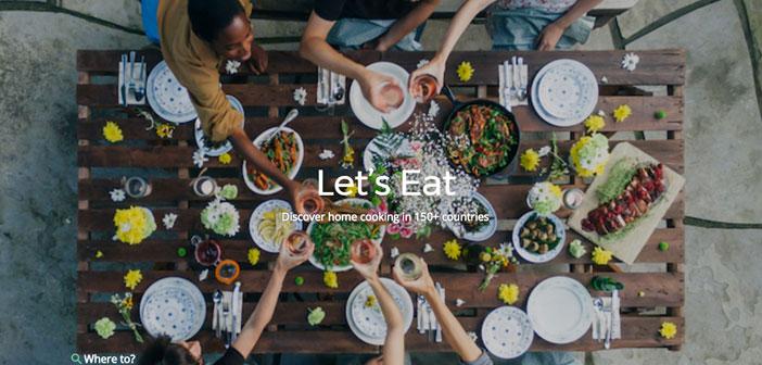 Esta plataforma pone en contacto a viajeros con cocineros caseros que están dispuestos a compartir sus viandas y descubrir así a la gente de paso los manjares típicos del lugar.