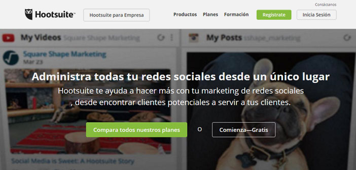 Hootsuite is an essential application for managing social networks a restaurant.