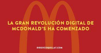 La gran revolución digital de McDonald's ha comenzado