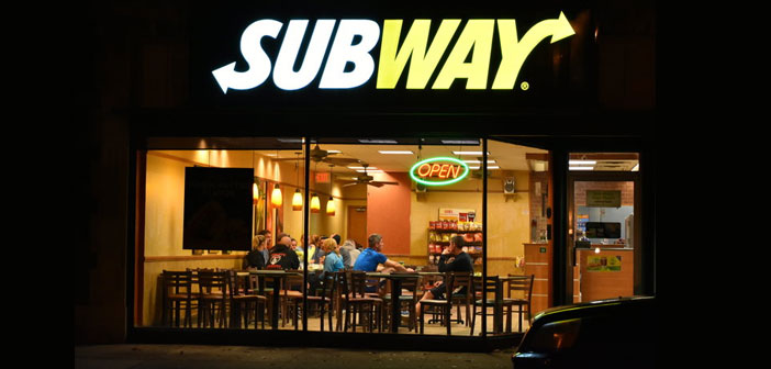 Over time, Subway, based on the entrepreneurialism of Fred DeLuca it has grown and has become a franchise with more than 44.000 restaurants in more than 110 countries, on five continents.
