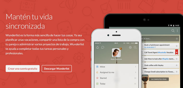 Wunderlist allows you to create to-do lists to share with your employees.