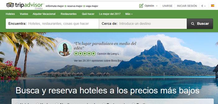 TripAdvisor a plus 435 Ecrire millions de commenter leurs expériences afin que les utilisateurs peuvent choisir leur destination avec plus d'informations et impartiale, car il est l'opinion d'une égale.