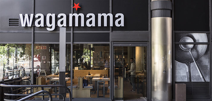 From today, Wagamama officially lands in Spain and with it brings its own distinctive style, inspired by Japanese ramen bars and a full menu of purely oriental smells and tastes.