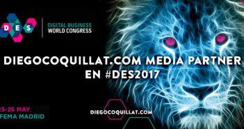 DiegoCoquillat.com elegido como Media Partner en el Digital Business World Congress 2017