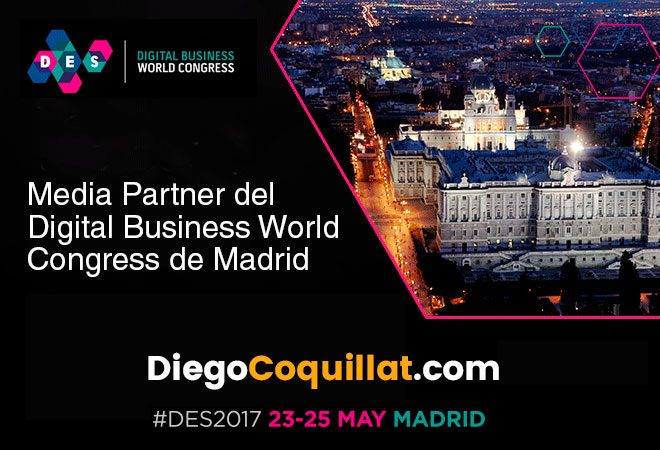 Find out through various channels of digital newspaper leader in innovation and new technologies for restaurants, DiegoCoquillat.com of everything that happens in the event Digital Enterprise Show 2017 #DES2017, of the 23 al 25 in Madrid.