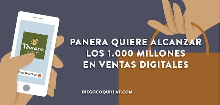 Panera quiere alcanzar los 1.000 millones de dólares en ventas digitales en 2017