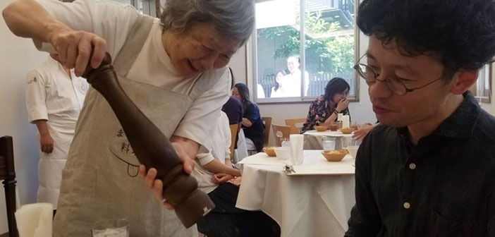 This gastronomic experience helps to realize that with a little understanding by all, Patients with dementia can be perfectly integrated members of society.