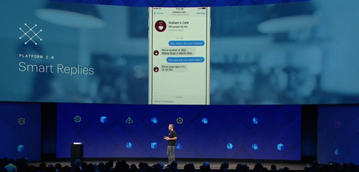 """""""Smart Replies"""", a tool designed to eliminate the time spent addressing user concerns on issues relating to reservations or menu time, because the answer automatically."""
