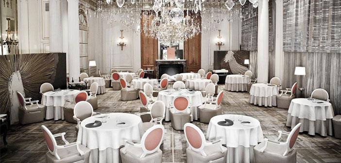 """Je me souviens quelques mots me disant Denis Courtiade, Directeur et chef d'Alain Ducasse au Plaza Athénée Chambre du dernier Congrès du HOST2016 Basque Culinary Center où j'ai eu l'honneur de participer; & Quot, lorsque le client a quitté le restaurant est quand vrai service commence"""""""