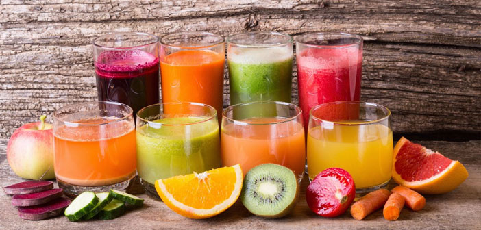 There are countless proposals, from fruit juices added sugar juice to vegetable based detox and vegetables. Among its recipes, no shortage of strawberries, pineapple, melon, the Orange, the lemon, etc.