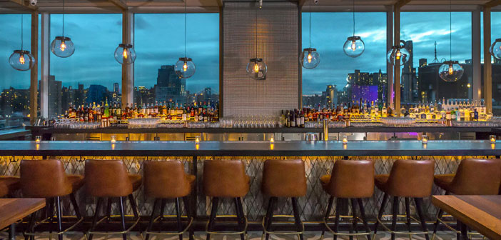 Because, It is normal for our soulmate do not take it very well if, for example, We traveled to New York and do not share with her the experience of dining at Mr Purple as we contemplate the world's most legendary skyline.