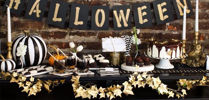 Las opciones son infinitas dependiendo de tu estilo de negocio, desde hacer una fiesta de disfraces con toda la decoración adecuada, pasando por un menú Halloween u ofreciendo un postre de calabaza para ese día.