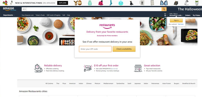 As Olo offers digital orders 200 restaurant brands and 40.000 establishments in total, Restaurants integration with Amazon will result in a new product called Olo Rails, in which the company handles the order entering the system directly to TPV, where you also can modify menus.