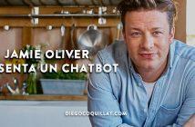 Jamie Oliver presenta un chatbot que te propone recetas a través de emojis