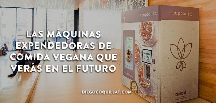 Las máquinas expendedoras de comida vegana que verás en el futuro