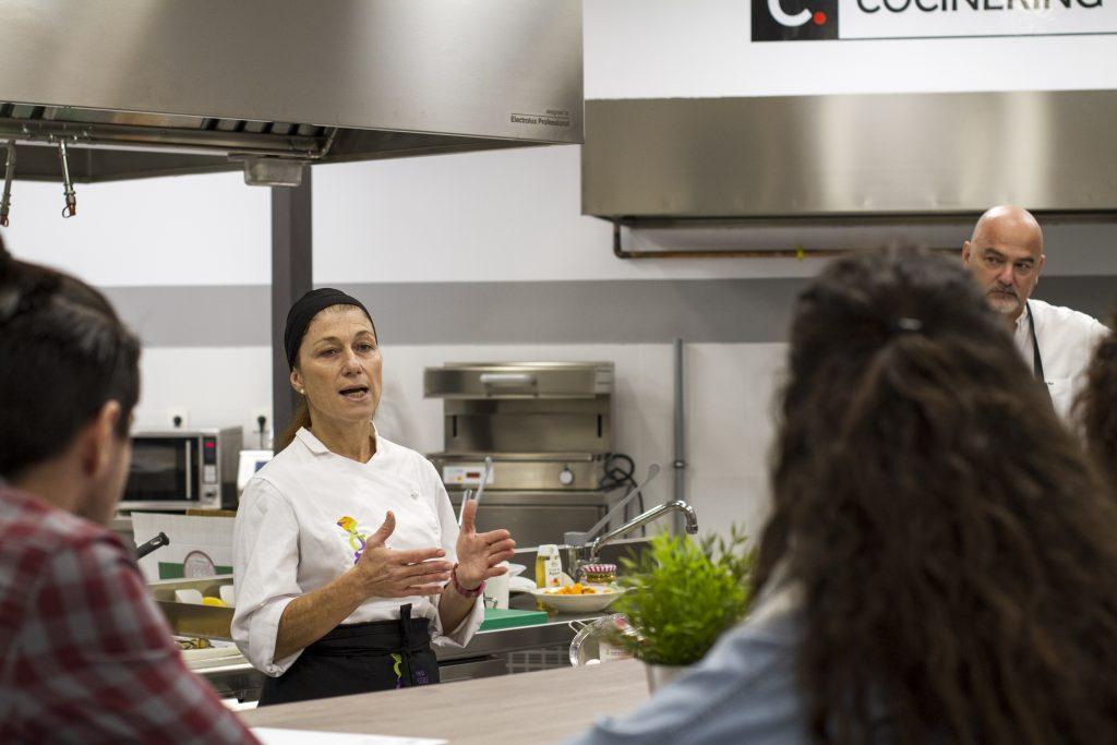 chef master class Gabriela Tassile à Madrid