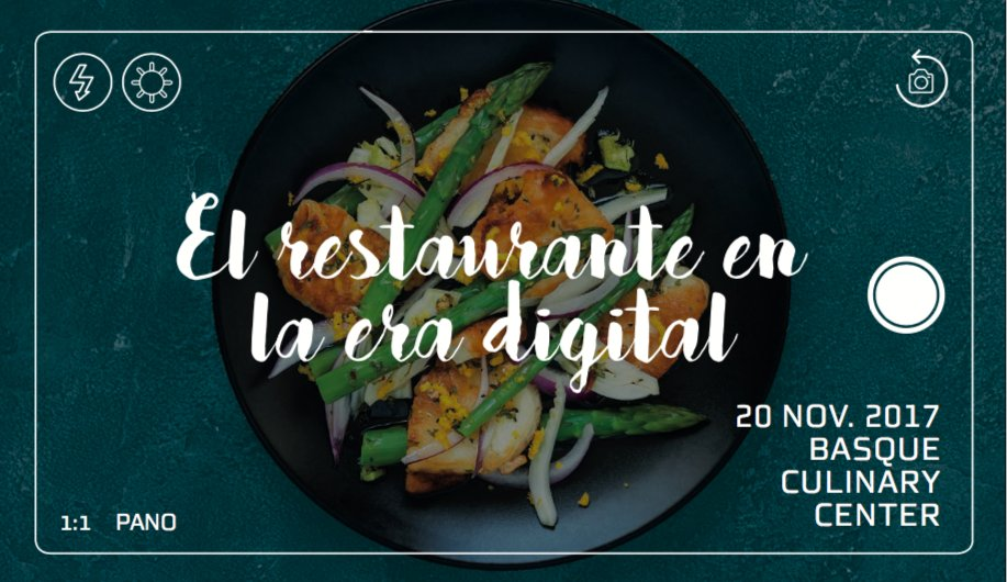 """Ferran Adriá and Diego restaurants Coquillat discuss the future at the conference """"The restaurant in the digital age"""", which will be held at the premises of prestigious training center and gastronomic research Basque Culinary Center in San Sebastian."""