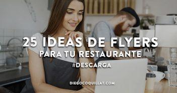 25 Ideas de flyers para tu restaurante