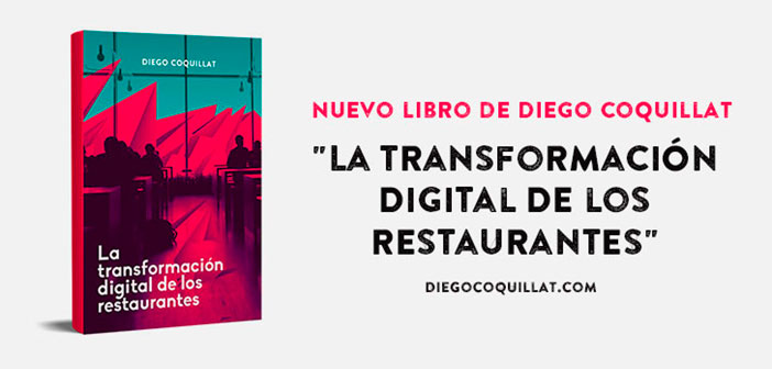 "This is the second book of Diego Coquillat. If the first ""A new era in restaurants"" and presented as one of the most innovative and strategic sector books. The digital transformation restaurants, talks about the digital change is happening on several levels and that directly affects our sector. Since the role of social networks, the possibilities of virtual reality, Big Data analysis, to new strategies and ways to innovate in your business."