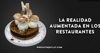 Cómo aumentar las ventas de un restaurante utilizando la Realidad Aumentada