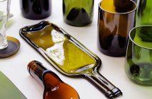 Rocarecicla la segunda vida de las botellas de vidrio en forma de artesanía sostenible