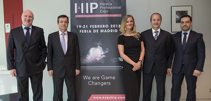 HIP2018 convierte Madrid en la capital Horeca europea