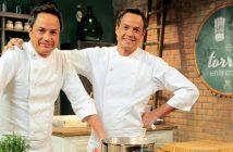 Los hermanos Torres se la juegan con una #PizzaPaella… ¡y triunfan!