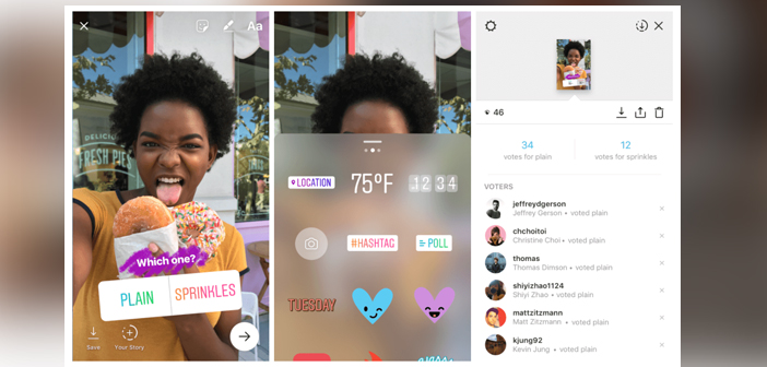 further, while Instagram is executed based on an algorithm that determines which stories appear in your feed, Stories Instagram is purely chronological. Which means it is an ideal tool to push timely content to your audience.
