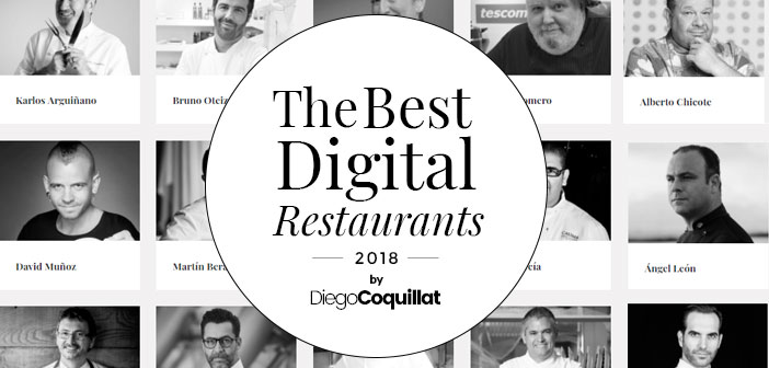 We will reward those restaurants or Spanish chefs who have demonstrated during the year 2017 the management of digital environments is one of its major transformative forces.