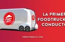 Toyota y Pizza Hut ponen en circulación la primera foodtruck sin conductor