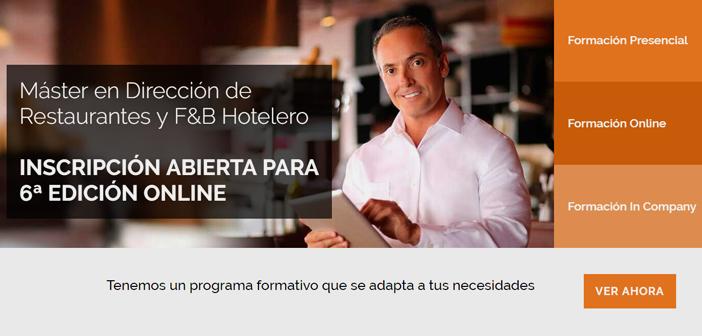 Je me souviens d'un commentaire d'un des étudiants qui nous a formés dans le Master Restaurants & F&B Hotelero de dire Gastrouni: avant de commencer le Maître avait un restaurant et était hotelier, Maintenant, je suis une entreprise et je suis un entrepreneur.