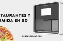 5 empresas que ya están trabajando con restaurantes y comida en 3D