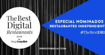 Los mejores Restaurantes Independientes Digitales de España en 2018 (#TheBestDR18)