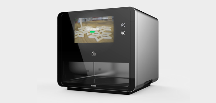 Foodini is a 3D printer Machines Natural domestic company type and with which ingredients are used fresh pureed to make homemade and healthy food, with the original technique.