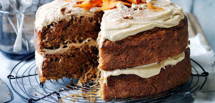 Le jour 3 Nous continuons avec la pâte et l'un des desserts préférés en Europe, la carotte Gâteau, l'un des accusés desserts actuellement plus, Ils aiment même ceux qui détestent ce légume.
