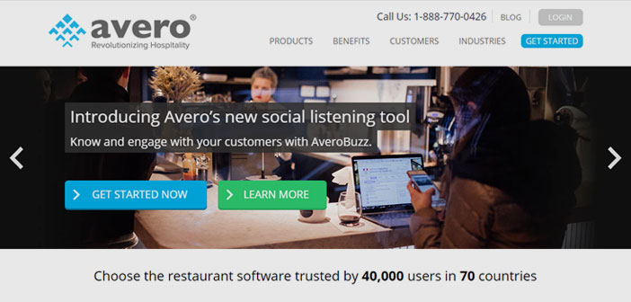 Avero is a New York company that helps detect inefficiencies restaurants serving diners. It has a history of local industry transactions with a cumulative thirteen billion amount, distributed 2700 establishments.