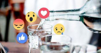 El agua del grifo desata la polémica en Facebook